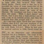 stukje tekst over David Jacobs in serie 3 bij afl. 17 d.d. 09-01-1956