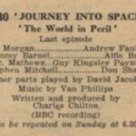The world in Peril serie 03 - afl. 20 d.d. 06-02-1956